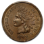 1865 Indian Head Cent MS-63 PCGS (Brown, Fancy 5)