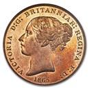 1865 Jersey Copper 1/13 Shilling PF-66 NGC (R/B)
