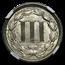1865 Three Cent Nickel MS-65 NGC