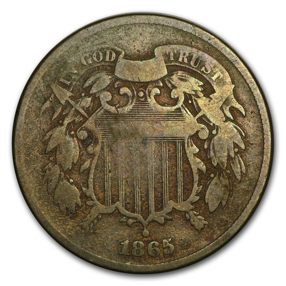 1865 Two Cent Piece Good (FS-002.7)