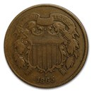 1865 Two Cent Piece VG