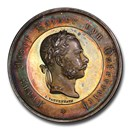 1866 Austria AR Medal Franz Joseph Agricultural Merit SP-64 PCGS