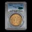 1866-S $20 Liberty Gold Double Eagle AU-58 PCGS CAC (w/Motto)