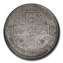 (1867-1878) Great Britain Silver Florin AU-53 PCGS (Mint Error)