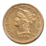1868 $10 Liberty Gold Eagle AU-53 PCGS