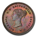 1868 Great Britain AE 1/4 Farthing Victoria PR-64 PCGS (Brown)