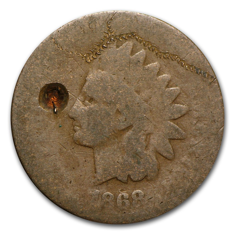 1868 Indian Head Cent Culls