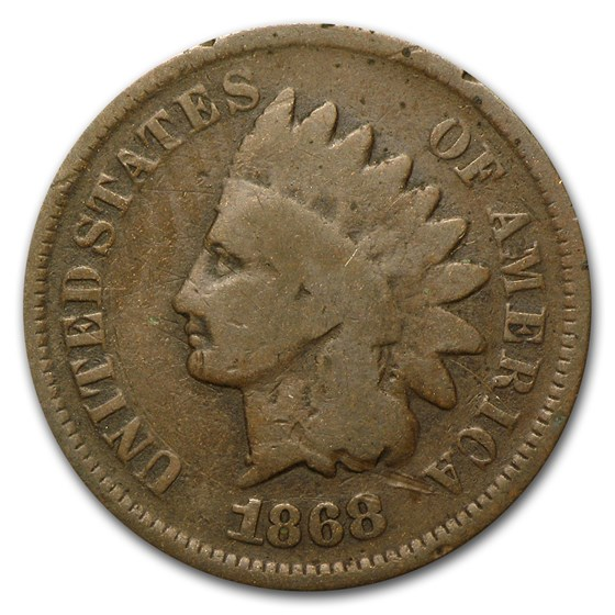 1868 Indian Head Cent Good