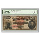 1869 $50 Legal Tender Fine-12 PMG NET