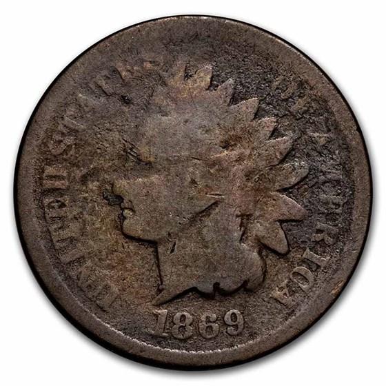 1869 Indian Head Cent Fair