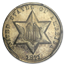 1871 Three Cent Silver MS-64 PCGS