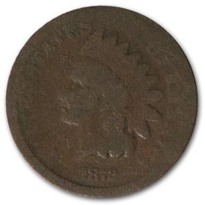1872 Indian Head Cent AG