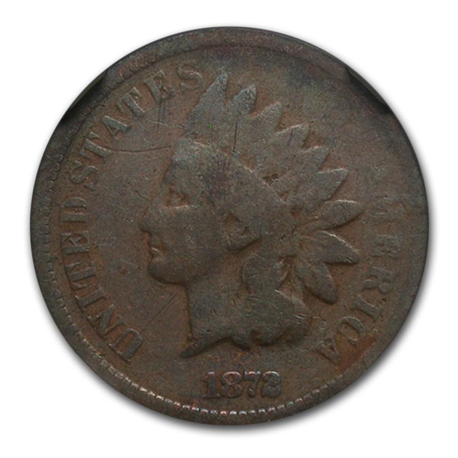 1872 Indian Head Cent Good-4 NGC