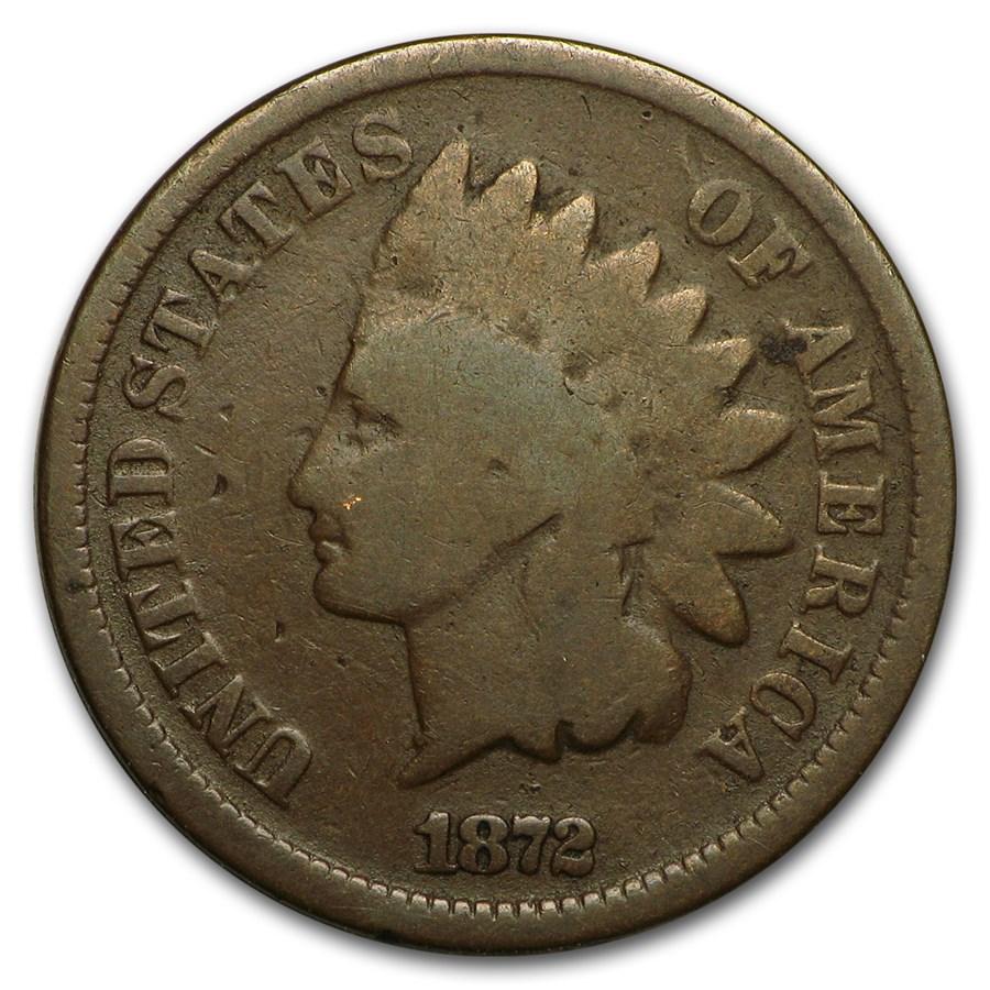 1872 Indian Head Cent Good