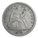 1872 Liberty Seated Dollar VF