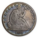 1872 Liberty Seated Half Dollar Good