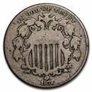 1872 Shield Nickel Good