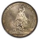 1872 Switzerland Zurich Shooting Thaler 5 Francs MS-64 NGC