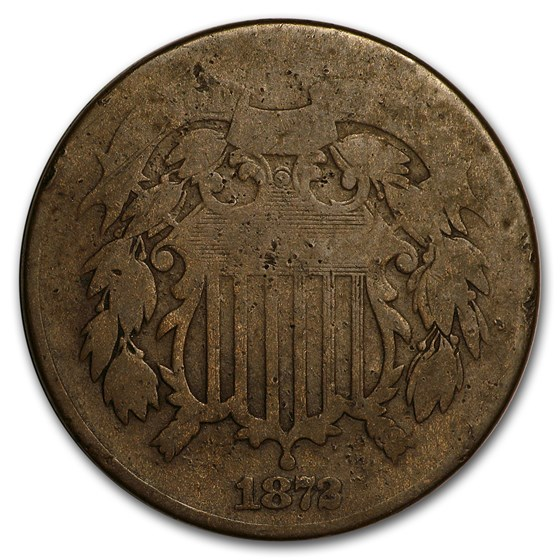 1872 Two Cent Piece Good