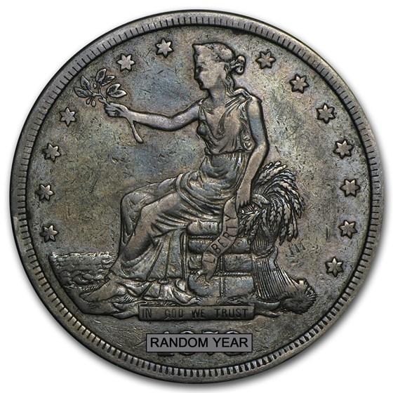 1873-1878 Trade Dollar VF
