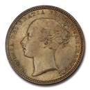 1873 Great Britain Silver Shilling Queen Victoria MS-65+ PCGS