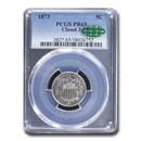 1873 Shield Nickel PR-65 PCGS CAC (Closed 3)