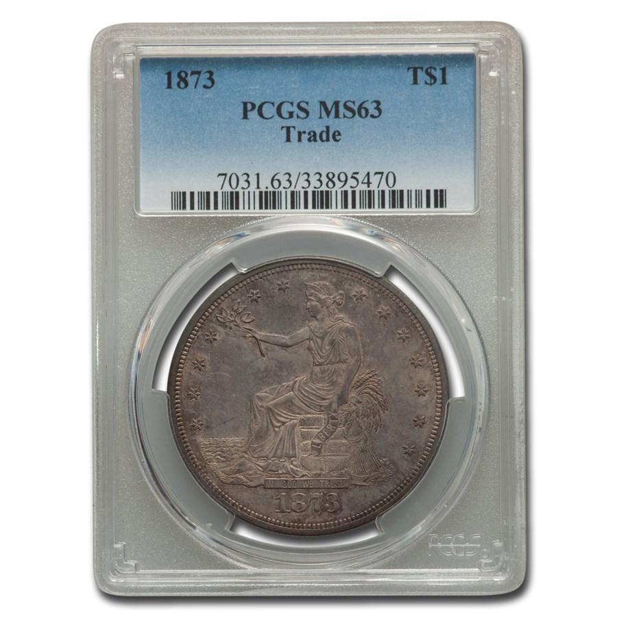 1873 Trade Dollar MS-63 PCGS