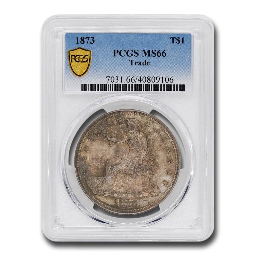 1873 Trade Dollar MS-66 PCGS