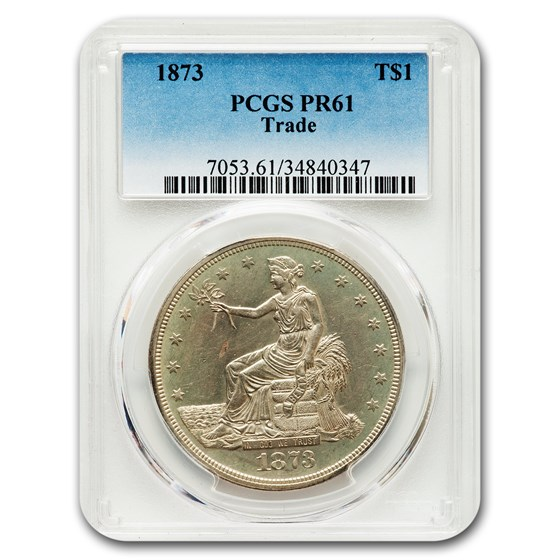1873 Trade Dollar PR-61 PCGS