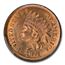 1874 Indian Head Cent MS-64+ PCGS CAC (Red)