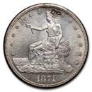 1874-S Trade Dollar BU (Chopmarks)