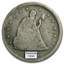 1875-1878 Twenty Cent Piece Avg Circ