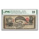 "1875 $2.00 ""Lazy Deuce"" New York, New York VG-10 PMG (CH#905)"