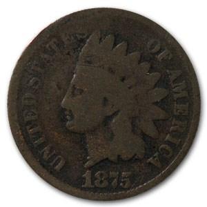 1875 Indian Head Cent Good