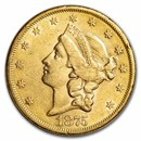1875-S $20 Liberty Gold Double Eagle XF