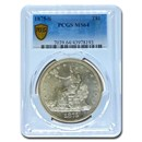 1875-S Trade Dollar MS-64 PCGS
