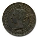 1876-1901 Canada Large Cent Victoria Avg Circ