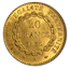 1876-A France Gold 20 Francs Angel MS-63 PCGS