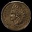 1876 Indian Head Cent PR-64 PCGS (Brown)