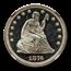1876 Liberty Seated Quarter PF-67 Cameo NGC