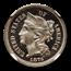 1876 Three Cent Nickel PF-65 UCAM NGC