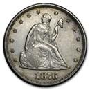 1876 Twenty Cent Piece XF