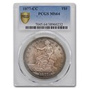 1877-CC Trade Dollar MS-64 PCGS