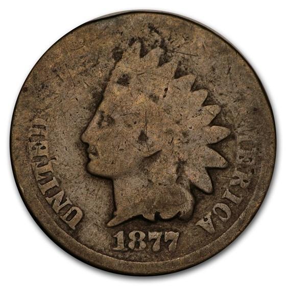 1877 Indian Head Cent AG