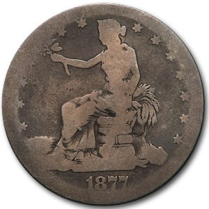 1877-S Trade Dollar AG
