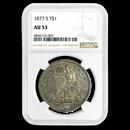 1877-S Trade Dollar AU-53 NGC