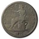 1877 Trade Dollar Potty Dollar