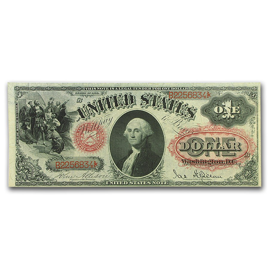 1878 $1.00 Legal Tender George Washington Unc