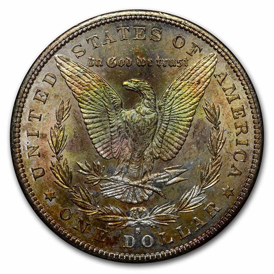 1878-1904 Morgan Dollars BU (Beautifully Toned)