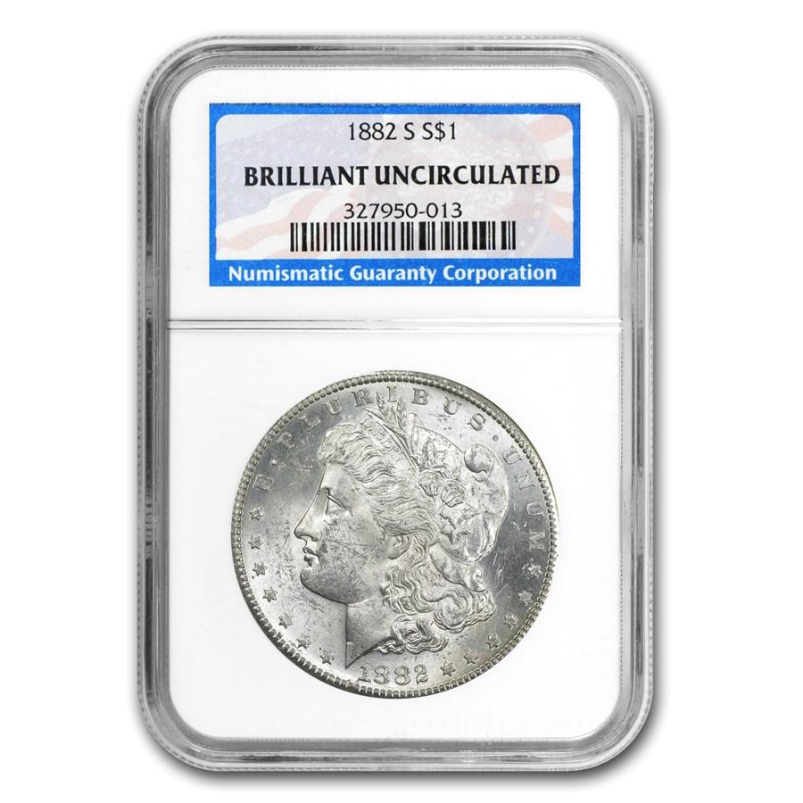 1878-1904 Morgan Dollars BU NGC